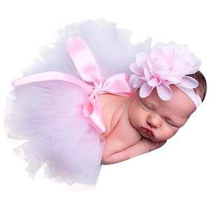 Newborn Photo Photo Prop Tutu skirt & Headband